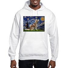 Starry Night & Husky Hoodie