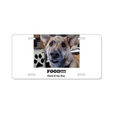 Food Aluminum License Plate