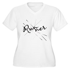 Abstract Runner T-Shirt