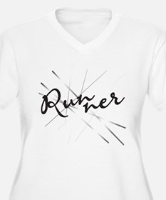 Abstract Runner T-Shirt