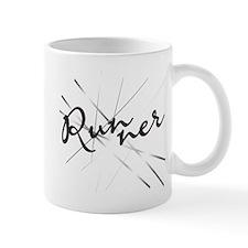 Abstract Runner Mug - Right Mug