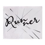 Abstract Runner Throw Blanket