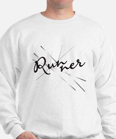 Abstract Runner Sweatshirt