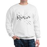 Abstract Runner Sweatshirt