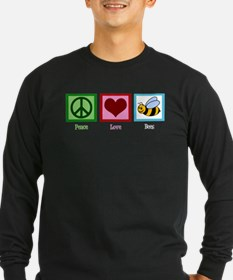 Peace Love Bees T