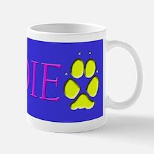 Pet Name Odie with Dog Tracks Mug