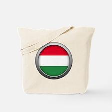 Round Flag - Hungary Tote Bag