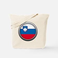 Round Flag - Slovenia Tote Bag