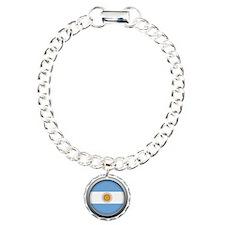 Round Flag - Argentina Bracelet
