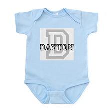 Letter D: Dayton Infant Creeper