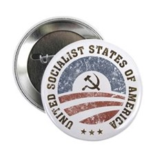 "USSA Vintage Logo 2.25"" Button (10 pack)"