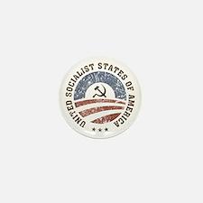 USSA Vintage Logo Mini Button