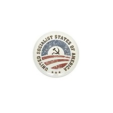 USSA Vintage Logo Mini Button (10 pack)
