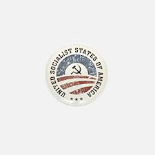 USSA Vintage Logo Mini Button (100 pack)