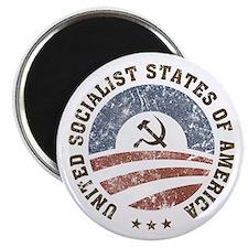 """USSA Vintage Logo 2.25"""" Magnet (100 pack)"""