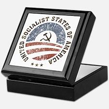 USSA Vintage Logo Keepsake Box