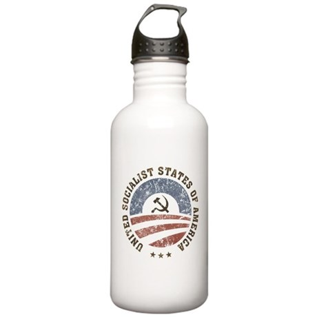 USSA Vintage Logo Stainless Water Bottle 1.0L