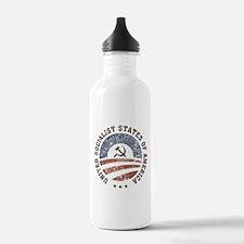 USSA Vintage Logo Water Bottle