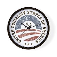 USSA Vintage Logo Wall Clock