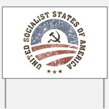 USSA Vintage Logo Yard Sign