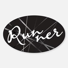 Abstract Runner Decal