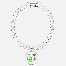Heart of Hope Lymphoma Bracelet