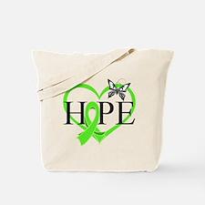 Heart of Hope Lymphoma Tote Bag