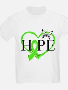 Heart of Hope Lymphoma T-Shirt