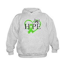 Heart of Hope Lymphoma Hoodie