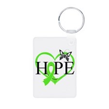 Heart of Hope Lymphoma Keychains