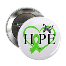 """Heart of Hope Lymphoma 2.25"""" Button"""