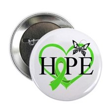 """Heart of Hope Lymphoma 2.25"""" Button (10 pack)"""