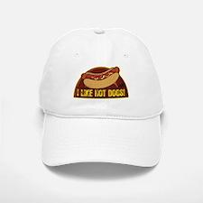 I LIKE HOT DOGS Baseball Baseball Cap