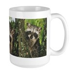 Baby Raccoon Large Mug