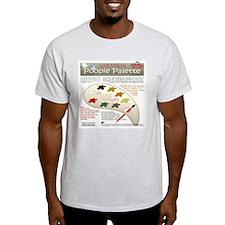 Newbie Parent's Poopie Palette T-Shirt