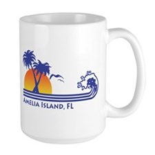 Amelia Island Florida Mug