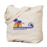 Amelia island Regular Canvas Tote Bag