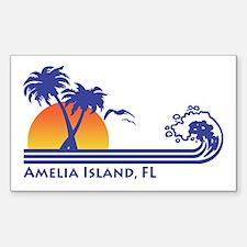 Amelia Island Florida Decal