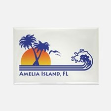 Amelia Island Florida Rectangle Magnet
