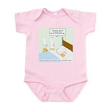 Dying cigarette Infant Bodysuit