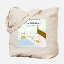 Dying cigarette Tote Bag
