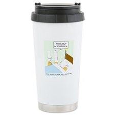 Dying cigarette Travel Mug