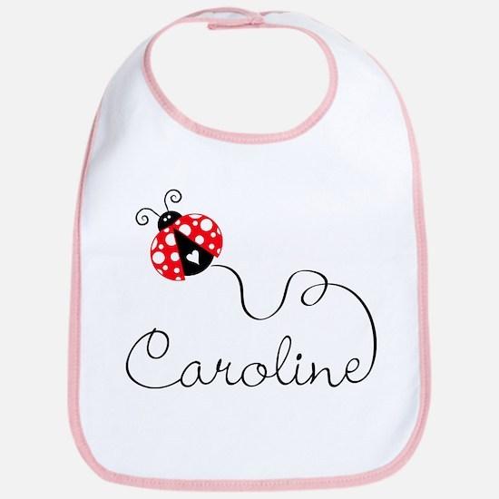 Ladybug Caroline Bib