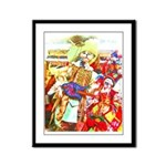 Puss 'n Boots Framed Panel Print