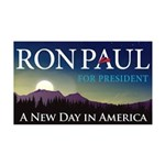 Ron Paul 2012 38.5 x 24.5 Wall Peel