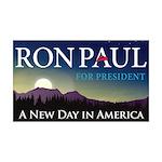 Ron Paul 2012 38.5 x 24.5 Wall Peel