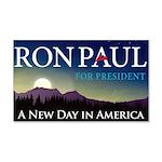 Ron Paul 2012 22x14 Wall Peel