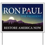 Ron Paul 2012 Yard Sign