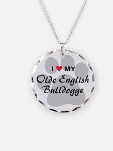 Olde English Bulldogge Necklace