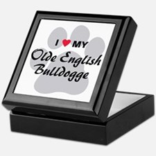 Olde English Bulldogge Keepsake Box